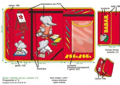 Composition graphique d'images sous licence