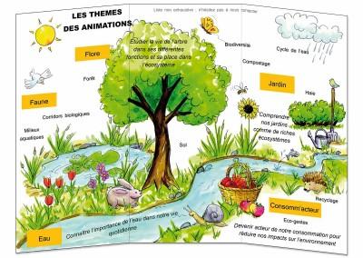 Création d'illustrations pour l'association BLE Bièvre Liers Environnement