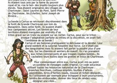 """Illustrations et graphisme du livre """"Brigands et fées de Chartreuse"""""""