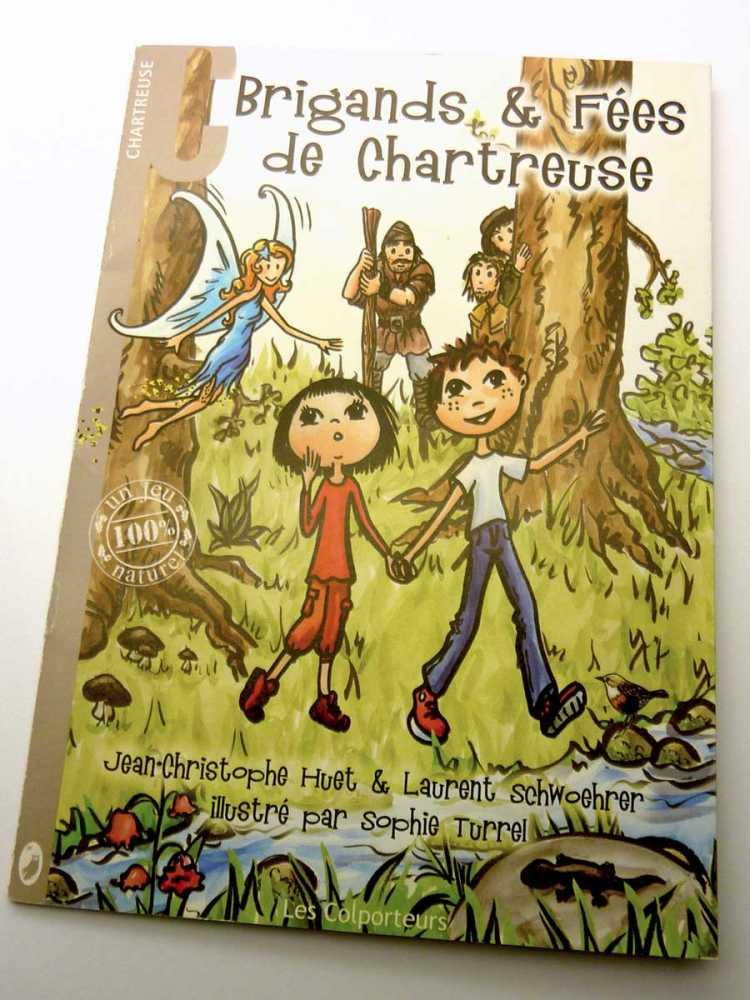 livre topo-conte Brigands et fées de Chartreuse