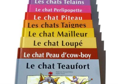 """Série de livres pour enfants """"Les petits chats"""""""