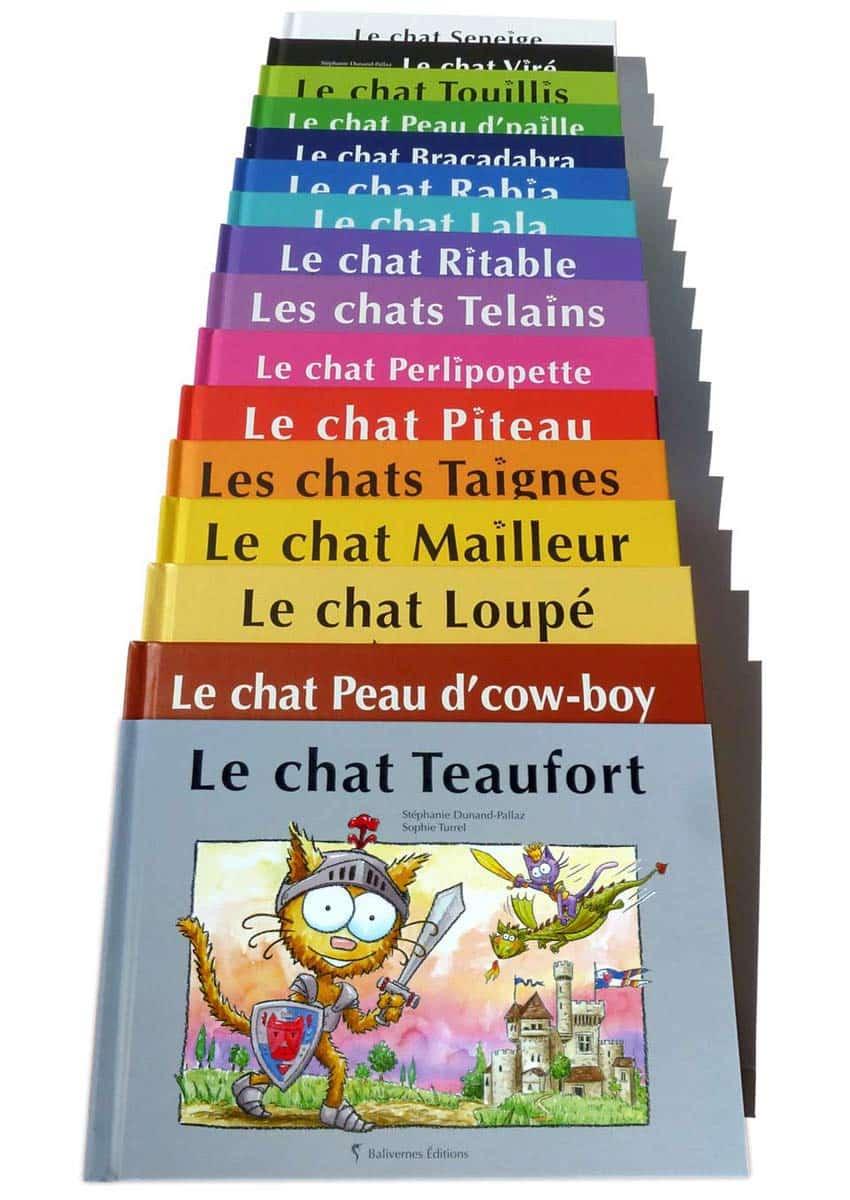 Série de livres pour enfants Les petits chats