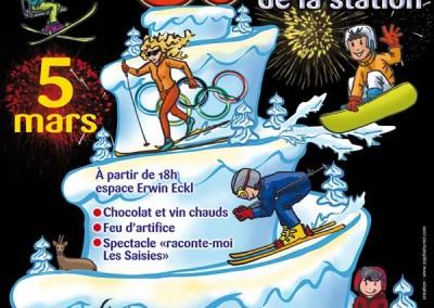 Les 50 ans de la station de ski des Saisies