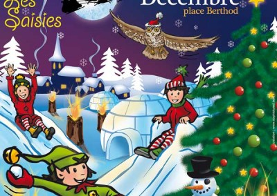 Affiche pour la semaine Le Noël féérique 2013