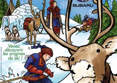 Affiche Le Nordic festival des Saisies en 2008