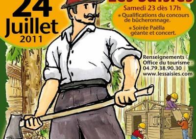 Affiche La fête du bois 2011