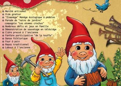 Nouvelle affiche La fête des Saisies 2012