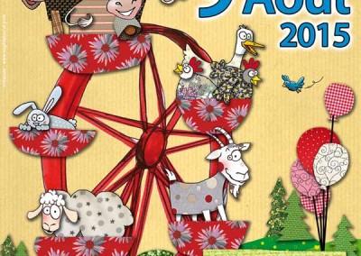 Affiche La fête des Saisies 2015