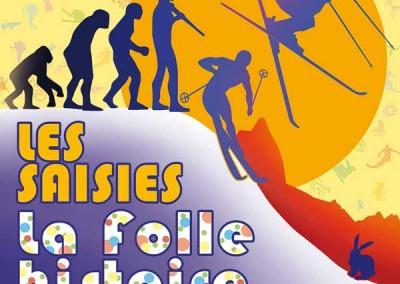 """Affiche """"La folle histoire du ski"""""""