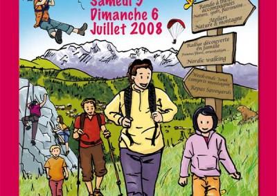 Fête de la randonnée et de la montagne des Saisies 2008