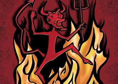 Affiche de la pièces de théâtre Une journée d'enfer