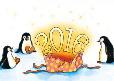 """""""Les pingouins"""" et le cadeau magique 2016"""