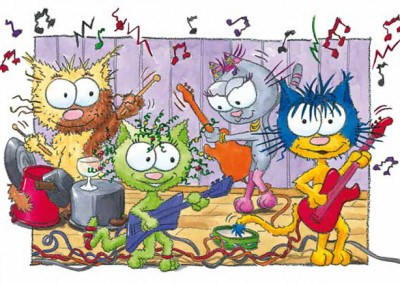 """Illustration du livre pour enfants """"Le chat Ritable"""""""
