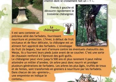"""Page du livre """"Les farfadets et les pierres cachées"""""""
