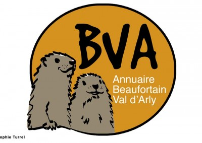 Création du logo pour l'annuaire en ligne du Beaufortain Val d'Arly