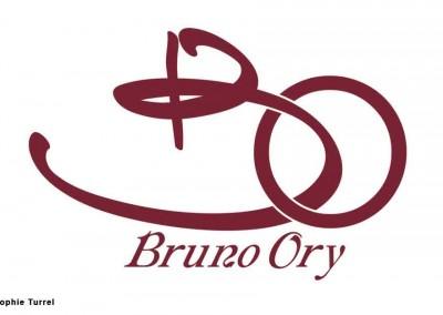 """Logo signature créé pour un traiteur, comme une """"griffe"""""""
