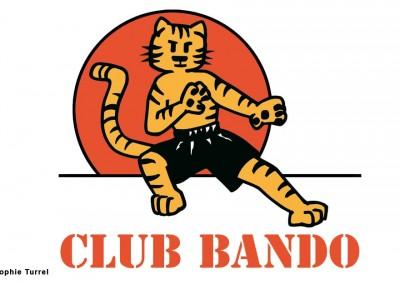 Création logo section enfants club de bando