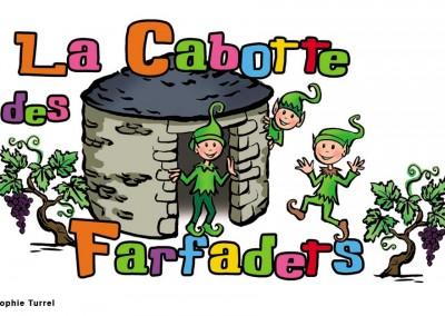 Création du logo pour La Cabotte des Farfadets, association d'activités pour enfants