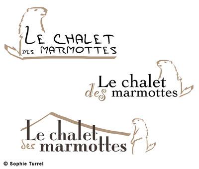 Recherhes du logo restaurant Le chalet des marmottes