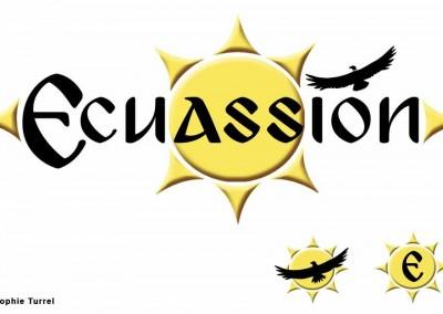 création du logo pour Ecuassion site de distribution de produits Equatoriens
