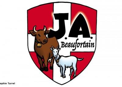 Création d'un logo pour Les Jeunes Agriculteurs du Beaufortain
