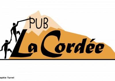 Création du logo pour Bar Pub La Cordée