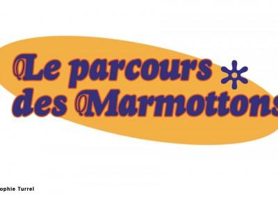 Logo de présentation d'un parcours découverte du ski de fond pour les enfants