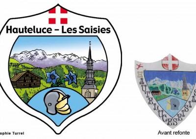 Refonte du logo pour les pompiers d'hauteluce Les Saisies