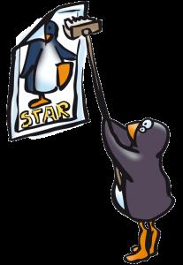 Pingouin affiche