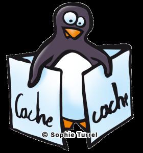 Pingouin Cache-cache