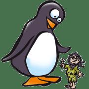 Pingouin et farfadet
