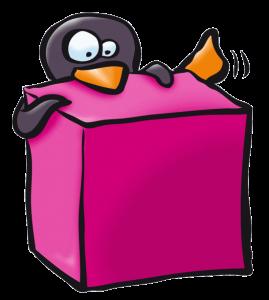 Pictogramme pingouin objet