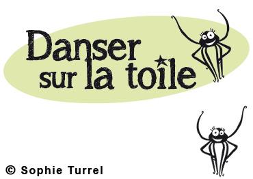Logo pour le site internet «Danser sur la toile»