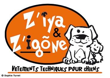 Logo vêtements pour chiens «Z'iya & Z'igone»