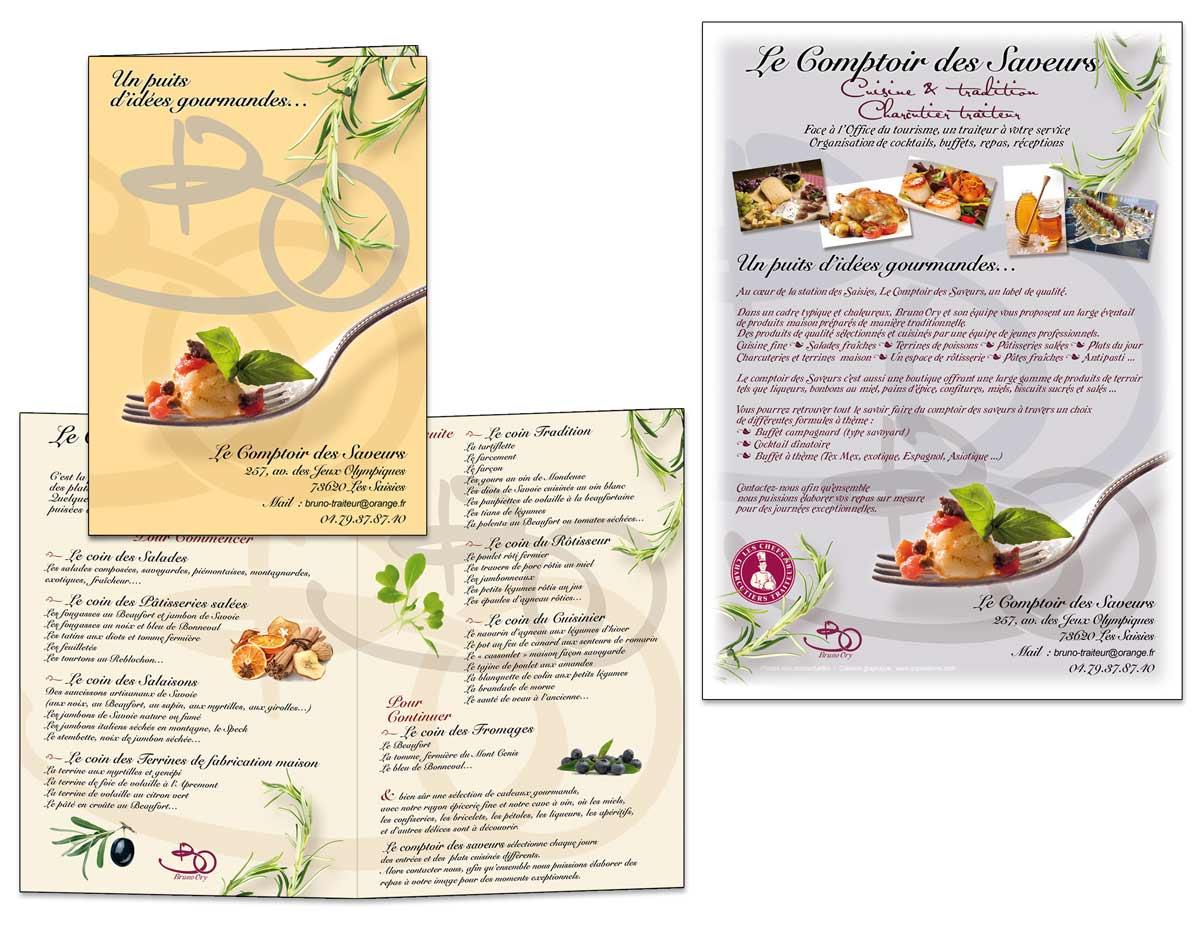 Faire Une Carte Pour Un Restaurant Graphisme