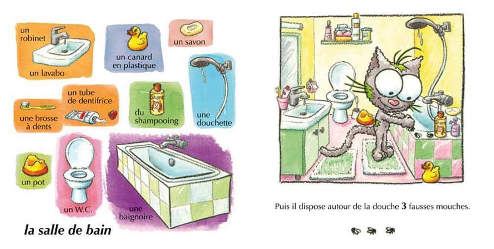 Les mini minets une s rie de livres cartonn s pour les b b s for Apprendre les objets de la maison