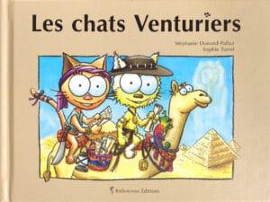 Couverture du livre les chats venturiers